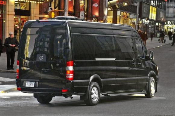 Mercedes Sprinter Black (черный)